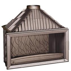 Foyer à bois Invicta 1100 Grande Vision