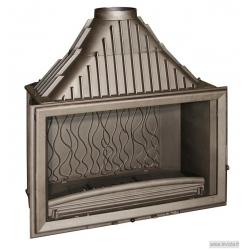 Foyer à bois Invicta 900 Grande Vision