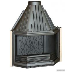 Foyer à bois Invicta 850 Prismatique