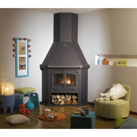 po le bois godin cantou d 39 angle offrez vous ce po le. Black Bedroom Furniture Sets. Home Design Ideas