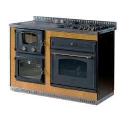 Cuisini re bois rosi res cl18076a - Stufe a legna con forno e piano cottura ...