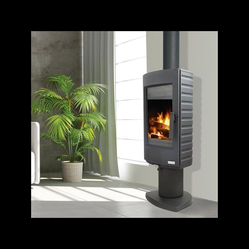 pied pour poele a bois pied en fonte pour p ele bois deom turbo accessoires supra po le bois. Black Bedroom Furniture Sets. Home Design Ideas