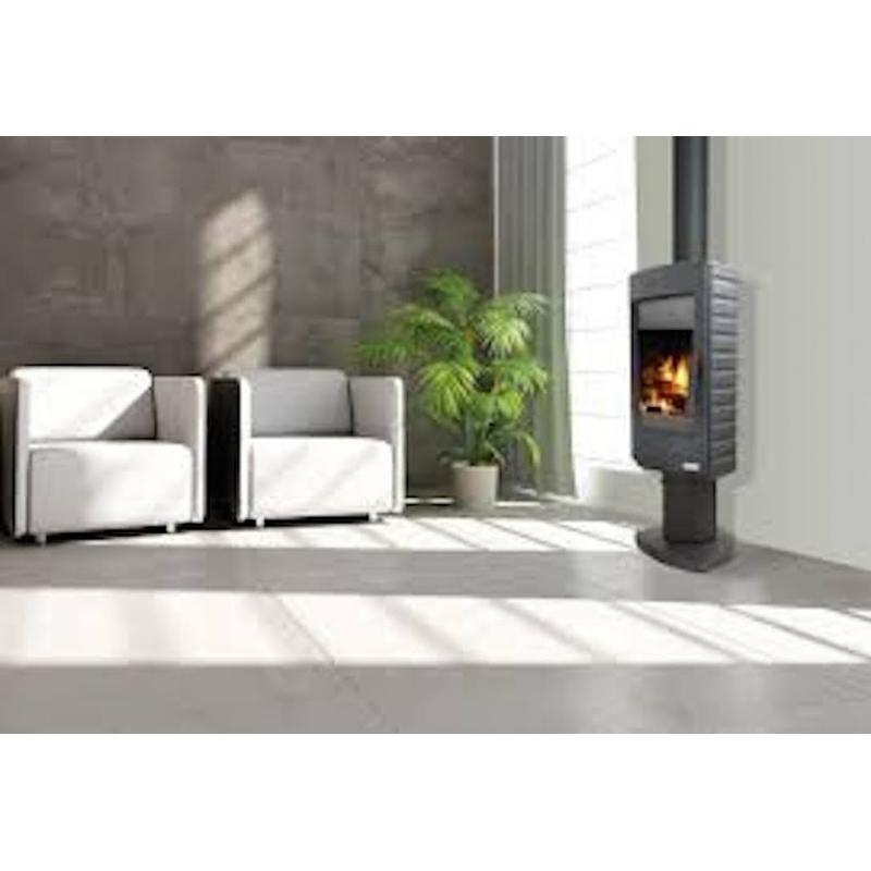 poele a bois tournant. Black Bedroom Furniture Sets. Home Design Ideas