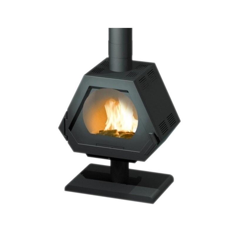 po le bois godin l 39 alba sur pied offrez vous ce po le. Black Bedroom Furniture Sets. Home Design Ideas