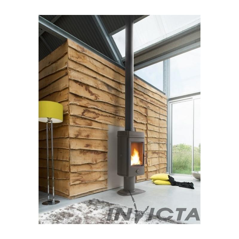 Poêles à Bois Invicta Pictures to pin on Pinterest
