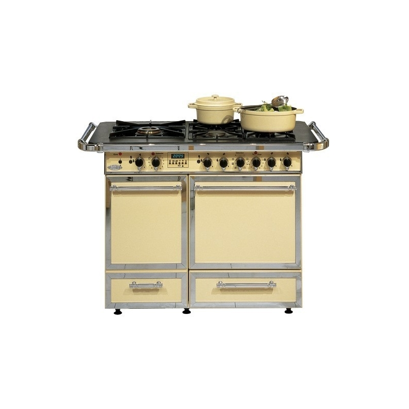 Cuisini re mixte godin la ch telaine pro four vertical version rustique - Cuisiniere mixte deux fours ...