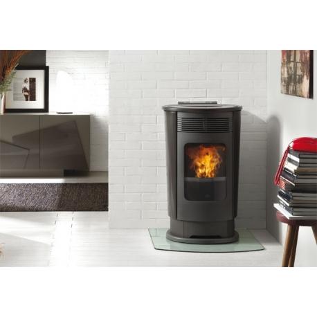 chauffez vous pas cher avec le po le bois edilkamin logo. Black Bedroom Furniture Sets. Home Design Ideas