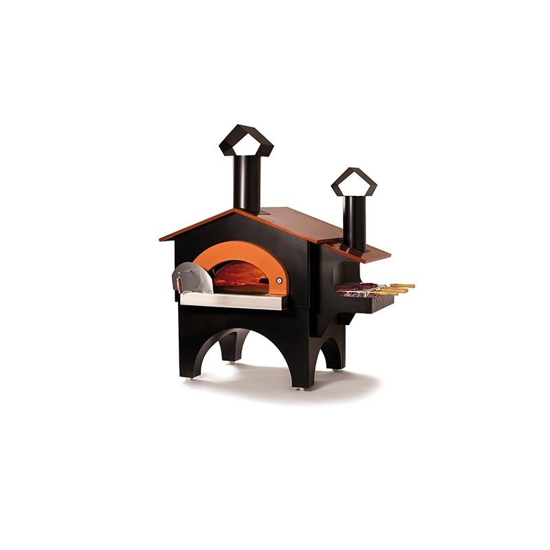 four bois alfa pizza fiesta barbecue. Black Bedroom Furniture Sets. Home Design Ideas
