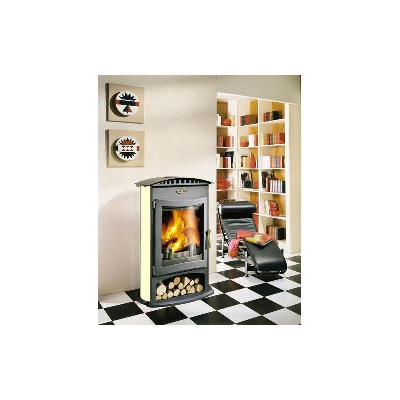 po le bois godin le brulhaut acier achetez votre po le. Black Bedroom Furniture Sets. Home Design Ideas