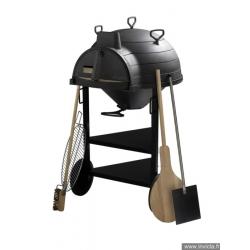 Four à pain Invicta LO GOUSTAOU avec chariot