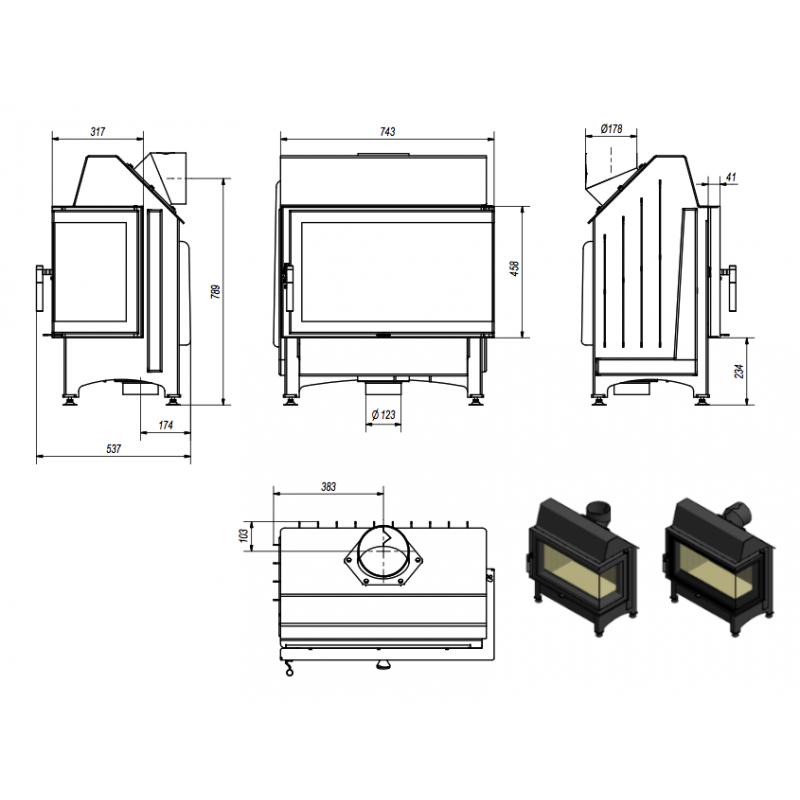 foyer ferm acier bestflam 53 faite acquisition de ce foyer bestflam. Black Bedroom Furniture Sets. Home Design Ideas