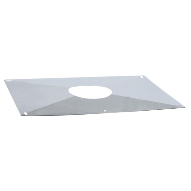 plaque d 39 tanch it simple pour po le granul s ou pellets. Black Bedroom Furniture Sets. Home Design Ideas