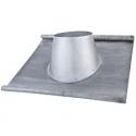 Solin plomb pour poêles à granulés ou pellets