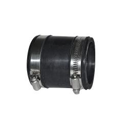 Adaptateur prise d'air EPDM ø 60 femelle x ø 50 à 60 femelle pour poêles à granulés ou pellets