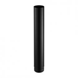 Tuyaux émaillé noir 500 mm