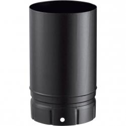 Tuyaux émaillé noir 250 mm