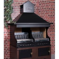 Barbecue à bois Clementi PROFESSIONNEL