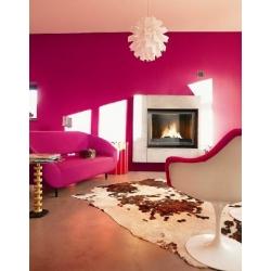 Foyer fermé à bois Laudel 700 GRANDE VISION RELEVABLE