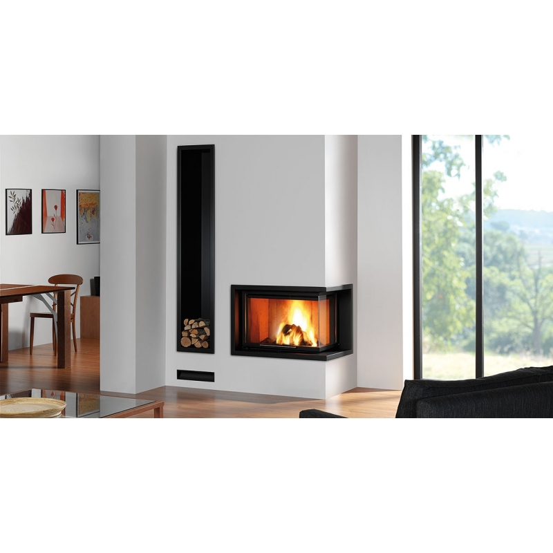 foyer ferm bois rocal g30 li saisissez ce foyer ferm. Black Bedroom Furniture Sets. Home Design Ideas