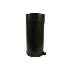 Rallonge télescopique pour poêle à bois noir 330 mm