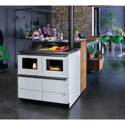 cuisini re granul s bouilleur palazzetti po le ambiance. Black Bedroom Furniture Sets. Home Design Ideas