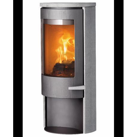 accumulez la chaleur avec le po le bois scandinave lotus. Black Bedroom Furniture Sets. Home Design Ideas