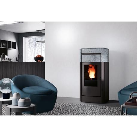 po le granul s edilkamin canalisable vyda. Black Bedroom Furniture Sets. Home Design Ideas