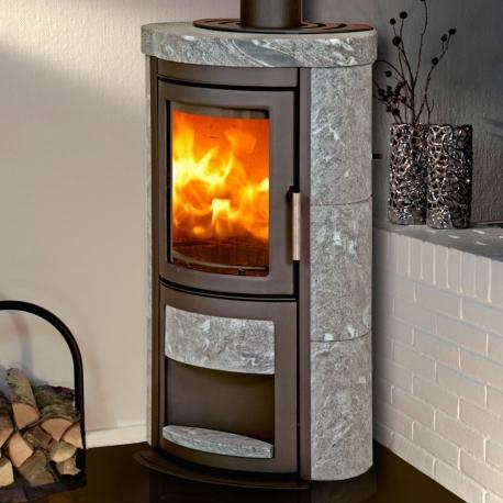 offrez vous le poêle à bois scandinave heta scan-line napoli pierre