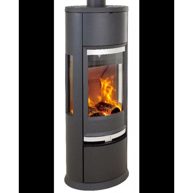 meilleur prix po le bois scandinave heta oura 300 c t s. Black Bedroom Furniture Sets. Home Design Ideas
