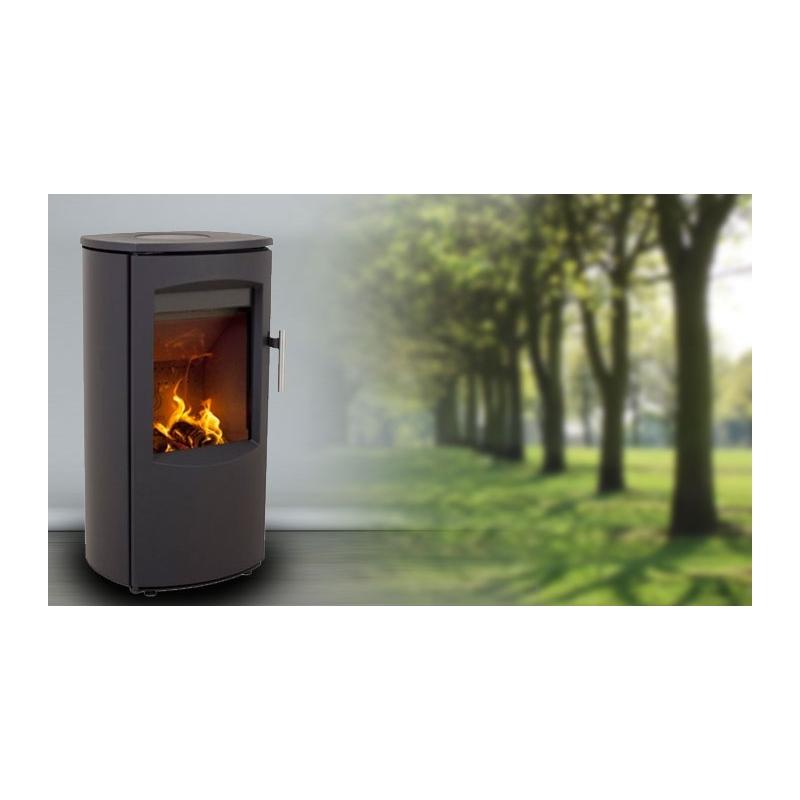 chauffez vous pas cher avec ce po le bois heta scan. Black Bedroom Furniture Sets. Home Design Ideas