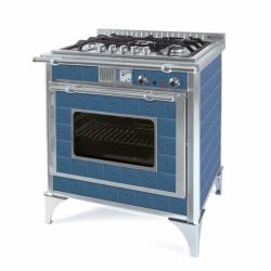cuisinière gaz wekos 75 GS Inox Mirto