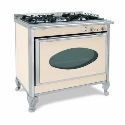 cuisinière gaz wekos 90 GEP / SF INOX