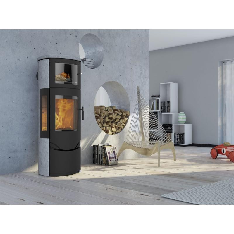 profitez de ce po le bois scandinave lotus prio 7 avec four. Black Bedroom Furniture Sets. Home Design Ideas
