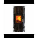 Poêle à bois scandinave Heta Scan-line 10