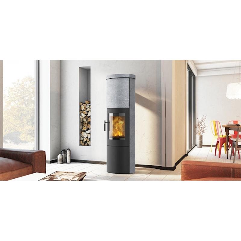 d couvrez le superbe po le bois scandinave lotus mira m scan line. Black Bedroom Furniture Sets. Home Design Ideas