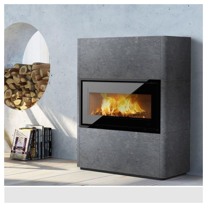 po le bois scandinave lotus beto 470 w m. Black Bedroom Furniture Sets. Home Design Ideas