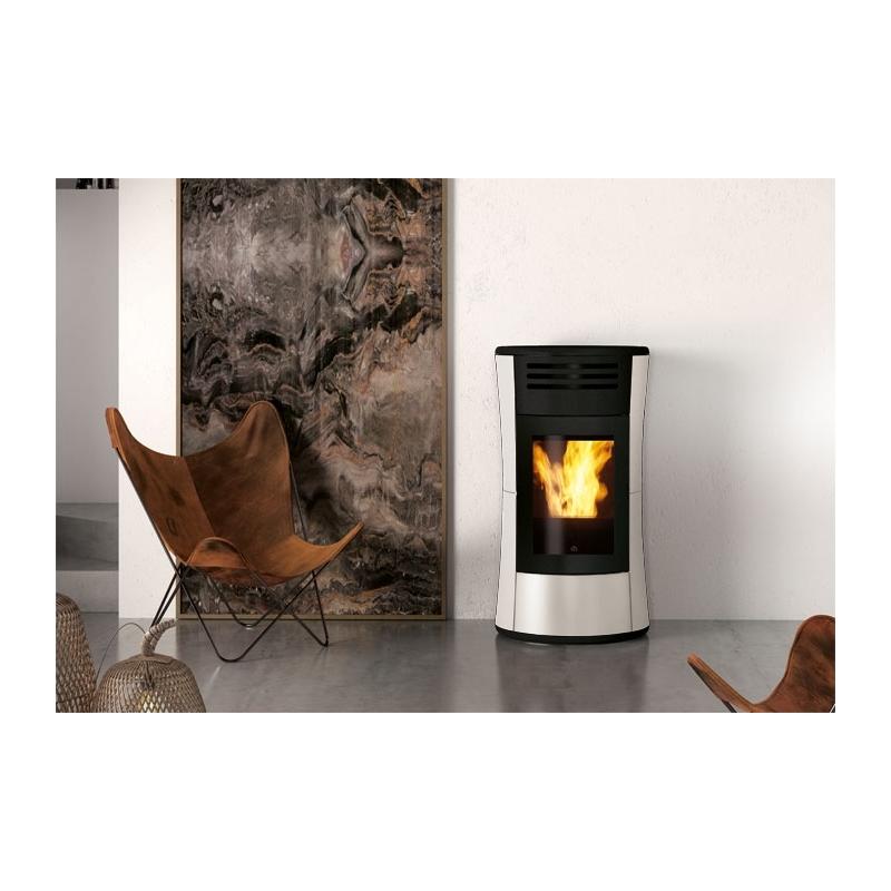 poele a pellet pas chere en italie stunning pole granuls slimquadro thermorossi chauffage bois. Black Bedroom Furniture Sets. Home Design Ideas