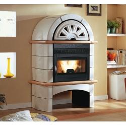 Poêle cheminée à granulés de bois NORDICA FALÒ 1XLP