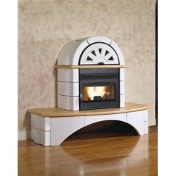 Poêle cheminée à granulés de bois Nordica Falo 1CP 2CP