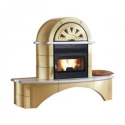 Poêle cheminée à granulés de bois NORDICA FALÒ 1CP 2CP