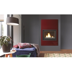 CHEMINEE design TURBO FONTE jade rouge