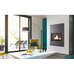 CHEMINEE design TURBO FONTE jade noir