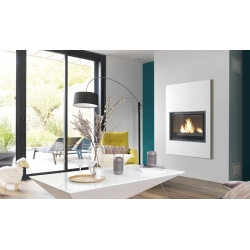 CHEMINEE design TURBO FONTE jade blanc