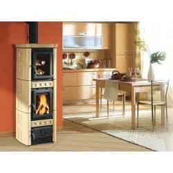 poêle à bois nordica gaia forno