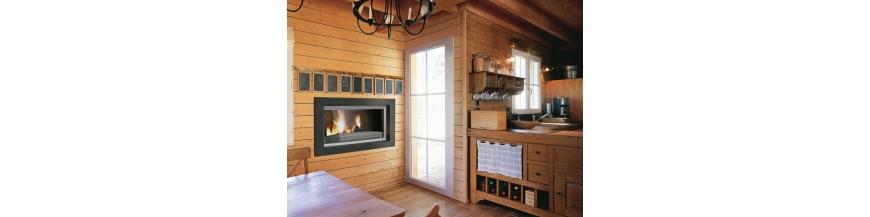 Foyers fermés à bois Invicta