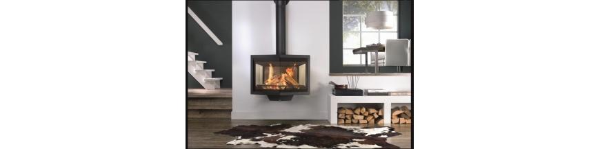 Poêles-cheminées à bois