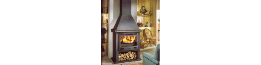 Poêles-cheminées à bois Godin