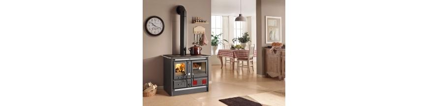 Cuisinières à bois bouilleur Nordica
