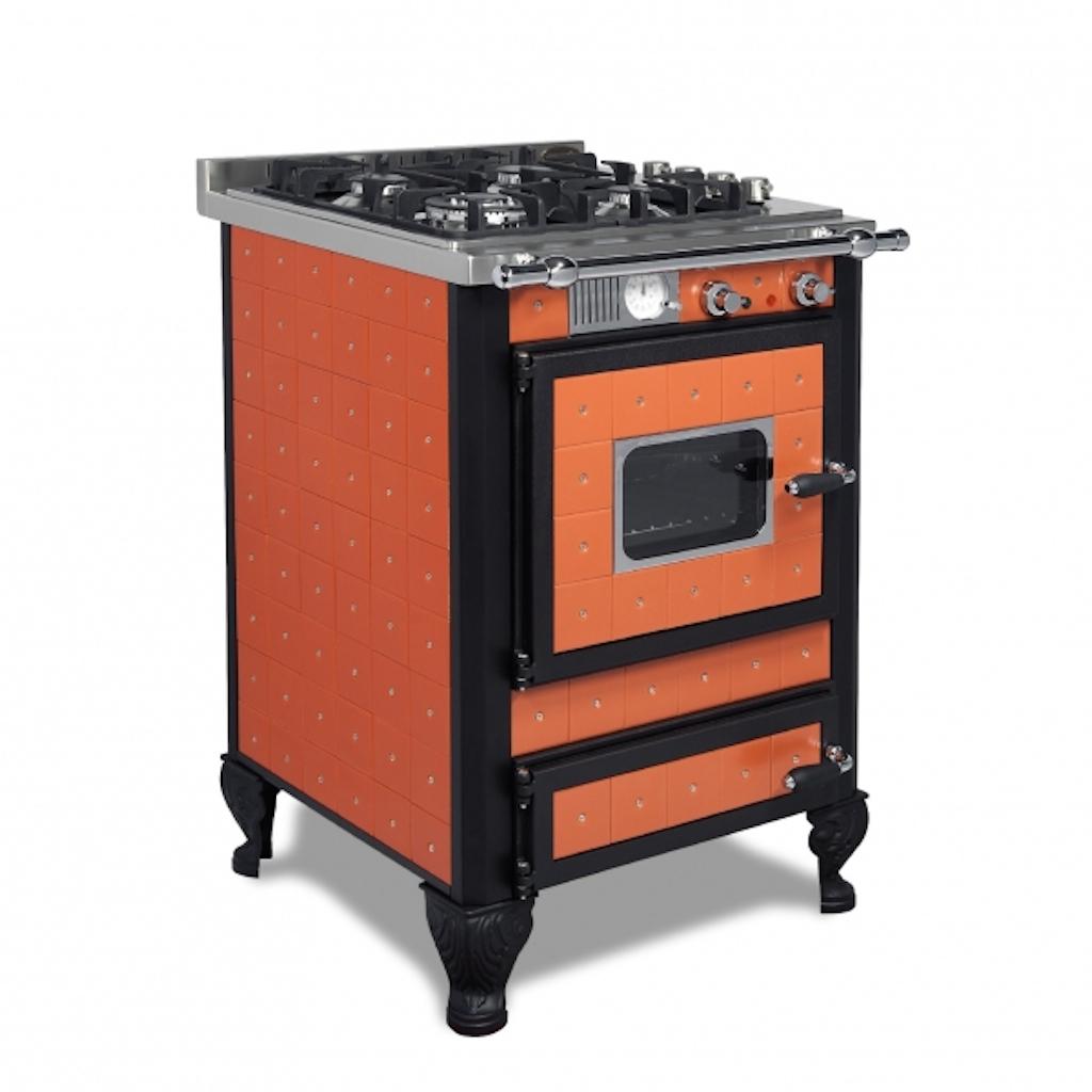 Piano De Cuisson Gaz Et Bois cuisinière gaz wekos 60 gep rustica
