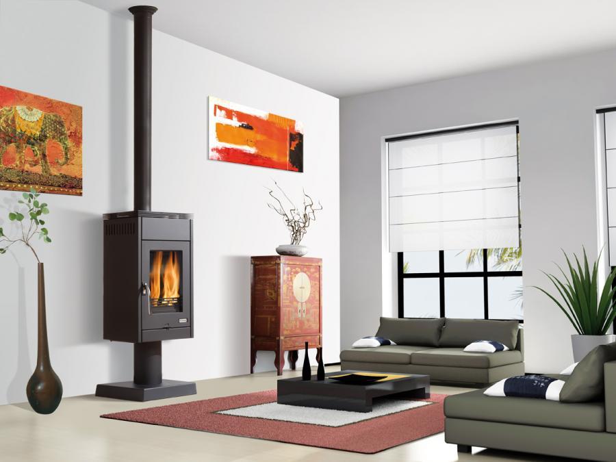 prix direct usine pour ce po le bois godin lamta sur. Black Bedroom Furniture Sets. Home Design Ideas